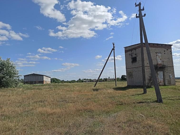 Трансформаторная подстанция на месте комбикормового завода